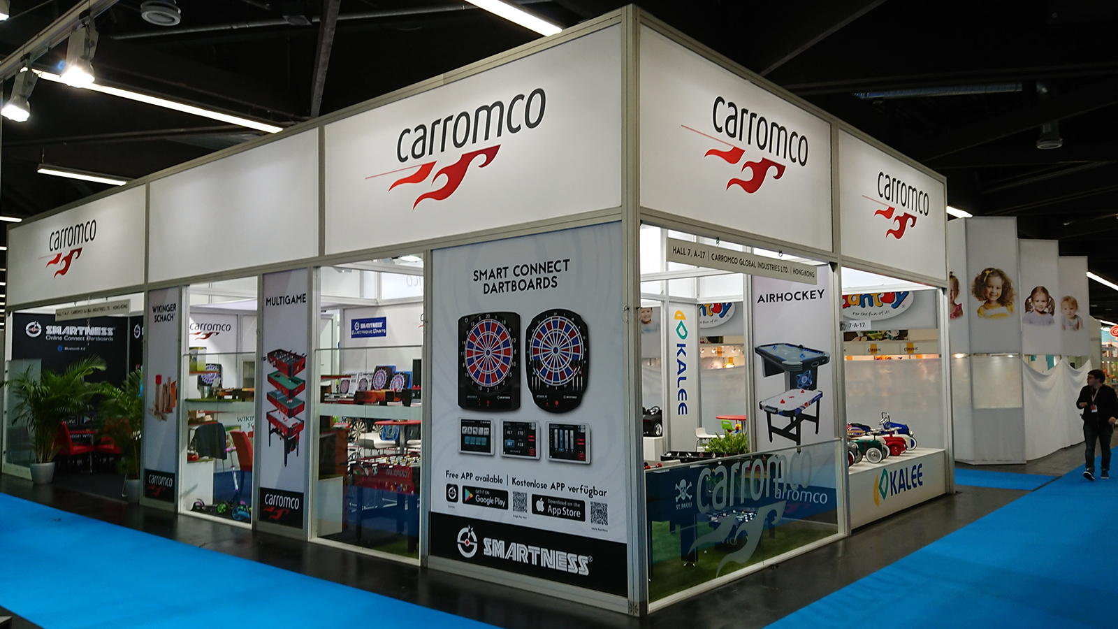 carromco at nuremberg toy fair