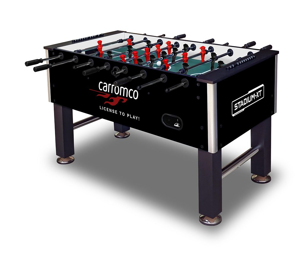 carromco football table stadium-xt black