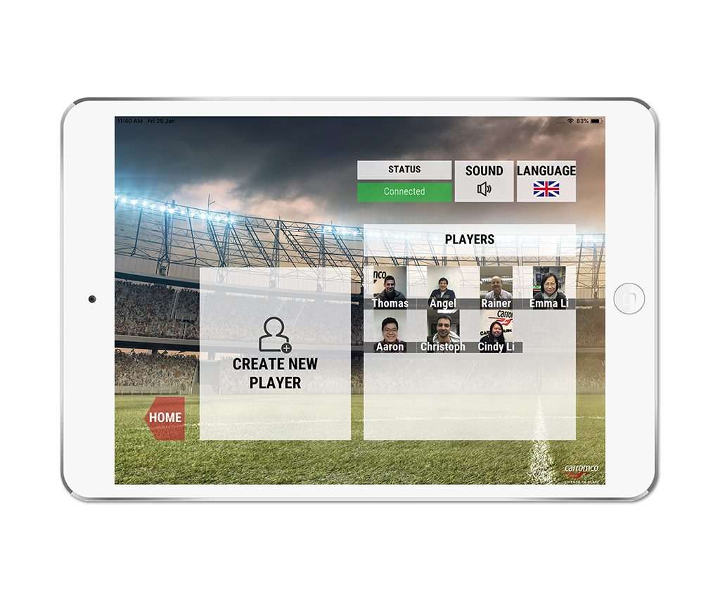 Football Table EVOLUTION-XT app screenshot 02