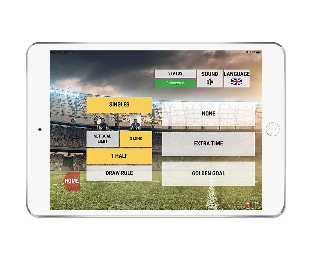 Football Table EVOLUTION-XT app screenshot 03